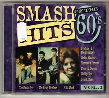 (GL750) Smash Hits of the 60s, Vol 1 - 16 tracks various artists - 1996 CD