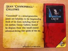 """Pirates Rise of the Fiends #020 Sean """"Cannonball"""" Gallows Pocketmodel CSG"""