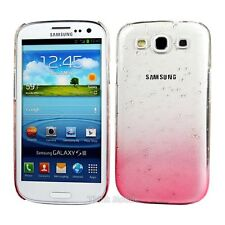 Red 3D Rain Drop Design Hard Case Cover For Samsung Galaxy S3 i9300 (P9Y)