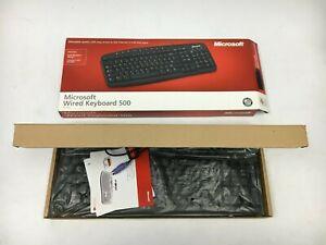 Microsoft Wired Keyboard 500 PC PS/2 NEW, Hot Keys