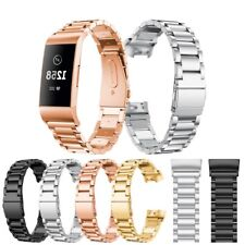 For Fitbit Charge 3 Stainless Steel Replacement Wrist Band Strap