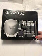 Kenwood Shock Proof Portable Cd Player Dpc-671 w/Original Parts Except Hp