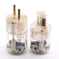 Oyaide DC-2.5G 24K Gold Plated DC Power Plug Connector for Hi End Audio Grade