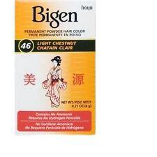 Bigen - Teinture pour cheveux - châtain clair 46 - lot de 3