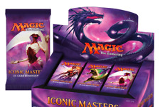 Magic the Gathering Iconic Masters New Sealed Booster Box