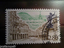 FRANCE 1995, timbre 2955, REMIREMONT, oblitéré, TOURISTIQUE, cancel STAMP