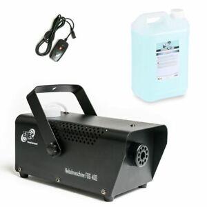 ETEC FOG 400 Nebelmaschine inkl. 5 Liter Nebelfluid m. Fernbedienung Smoke SET
