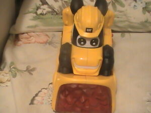 Toy State CAT Buildin' Crew battery operated Bulldozer with Lights and Sound