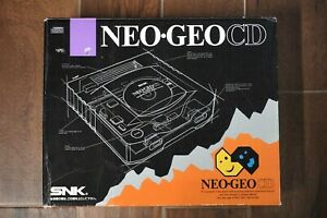 SNK NEO GEO CD box only Japan import system US seller PLEASE READ!