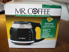 Mr Coffee PLD13 Replacement Carafe 12 Cup Black Glass New in Box