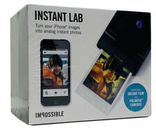 Impossible Project Instant Lab Printing iPhone Photo Booth NIB Unopened