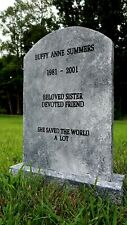 Buffy Summers the Vampire Slayer Life size Tombstone Halloween Friday the 13th