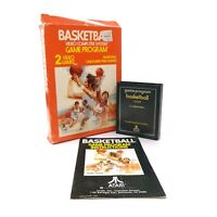 Basketball (Atari 2600, 1978) CX2624 CIB Complete in Box w/ Manual & Game Tested