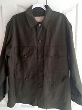 New listing Vintage Cc Filson Green 100% Wool Garment Union Made Hunting Jacket Euc 46