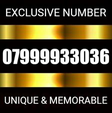 GOLD VIP DIAMOND PLATINUM BUSINESS MOBILE PHONE NUMBER SIM CARD 9999