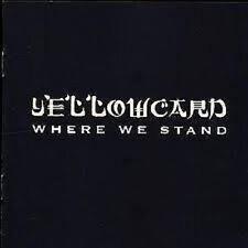 Yellowcard Where We Stand CD NEW 2005 U.S. Punk Kung Fu