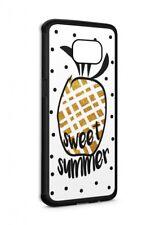 Samsung Galaxy sweet summer SILIKON Flipcase Tasche Hülle Case Cover Schutz  ...