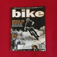 Nos Vintage September 1999 Bike Magazine Volume 6, Number 8 Bmx Freestyle Racing