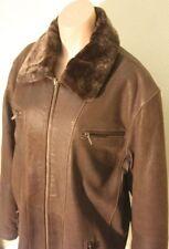 Jacketts aus Leder mit 54 Größe