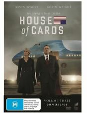 House Of Cards : Season 3 (DVD, 2015, 4-Disc Set) Sealed, Region: 2, 4, & 5