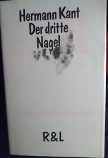 Hermann Kant Der dritte Nagel Erzählungen EA signiert u. Datiert 1981  sehr gut