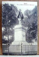 Lucca - Mon. a Vittorio Emanuele II (Passaglia) [piccola, b/n, viaggiata]
