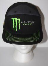 HAILIE DEEGAN signed Monster Black NASCAR K&N Snapback Hat