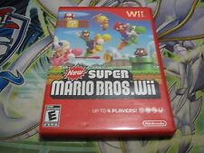 New Super Mario Bros. Wii (Nintendo Wii, 2009) (Fast Shipping)