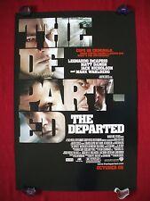 THE DEPARTED * 2006 ORIGINAL MOVIE POSTER D/S ADV.  MARTIN SCORSESE BOSTON CRIME