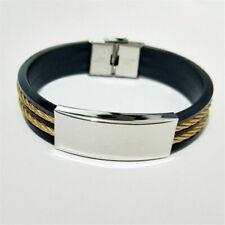 Bohemian Men Women Handmade Leather Bracelet Braided Bangle Wristband Gift