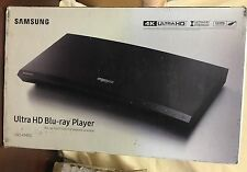 Samsung UBD-KM85c 4K Ultra HD Streaming Blu-ray Player Wi-Fi - New Sealed Box