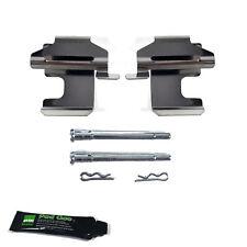 FIAT PANDA (2003 & GT) FRENO ANTERIORE Pad Kit di montaggio Pad Pin Kit Solid Dischi bpf1273f