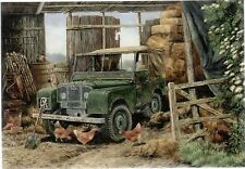 Land Rover Automobile Print