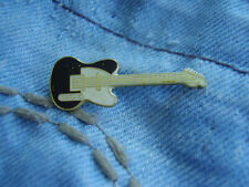 Pin Gitarre Gitarrenpin Guitar E-Gitarre E-Bass Akustik Gitarre schwarz-weiß