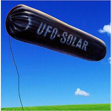 großes Solar UFO fliegendes Luftschiff schwarz Heißluftballon XXL Solarufo