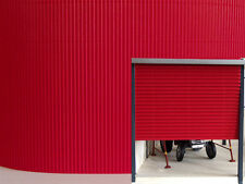 1:32 SCALE FARM DIORAMA BUILDING CORRUGATED CARD SHEET RED SUIT BRITAINS