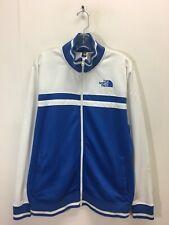 Vintage The North Face Track Jacket Mens Size Large Blue White