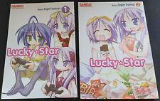 Lucky Star Manga Volumes 1+2 English Bandai Kagami Yoshimizu