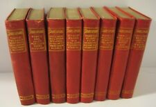 8 Vol. Set with Box: Illustrated Pocket Shakespeare, Gilded/Leather circa 1887