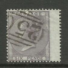 1855/7 Sg 69, 6d Deep Lilac, Fine used. {TT1578-44}