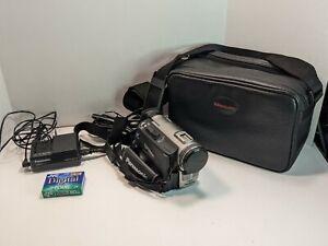 Panasonic PV-DV400D Digital Palmcorder with Case/Bag, Charger, Battery, Mini DV