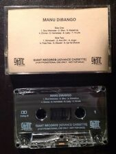 Manu Dibango Wakafrika RARE PROMO CASSETTE Tape Giant Records (not LP CD)