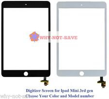 Touch Screen Glass Digitizer Replacement Part with IC flex for Ipad Mini 3 3rd