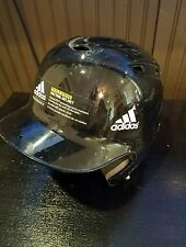 Adidas Triple Stripe Baseball Batting Helmet Fits 6 3/8 - 7 3/8 Black Clima Lite