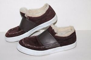 PUMA El Roo Lo Casual Sneakers, #344957-05, Brown/Faux Fur, Women's US 9