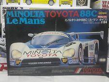 Hasegawa 1/24 Minolta Toyota 88C LeMans Model Car Kit