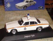 ATLAS EDITIONS - JAGUAR XJ6  POLICE CAR - WEST YORKSHIRE POLICE  - 1:43 - BOXED