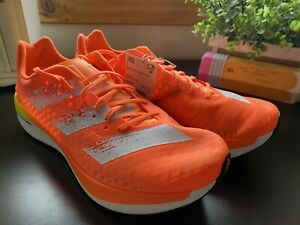 Size 10 - NEW adidas Adizero Adios Pro Screaming Orange 2021 REAL DEAL!!