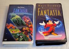 MICKEY'S MAGICAL CHRISTMAS FANTASIA & 2000 VHS Snowed in the House of Mouse CC G