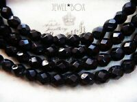 VINTAGE FRENCH JET BLACK CRYSTAL FLAPPER LONG Mourning NECKLACE GATSBY DOWNTON